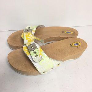Dr. Scholls Vintage Original Exercise Sandals Wood